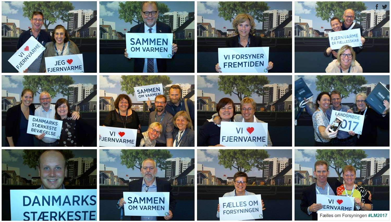 Dansk Fjernvarme / Get Visual Selfieboks